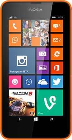 Nokia Lumia 635 Picture