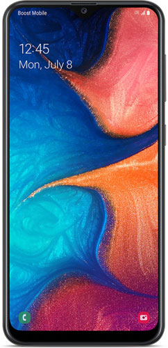 Samsung Galaxy A20 Picture