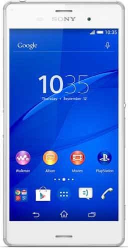 Sony Xperia Z3v Picture