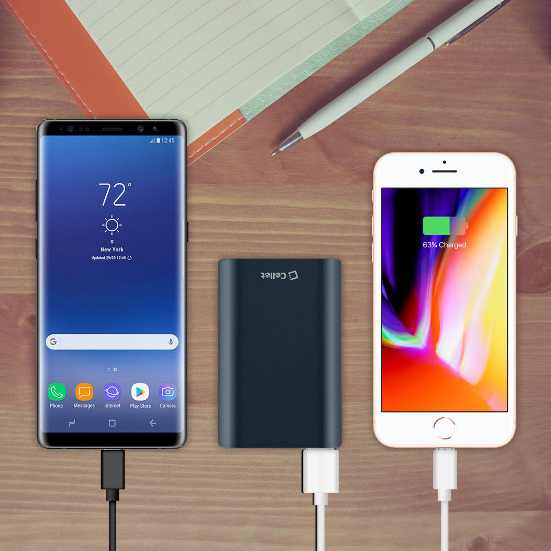 IPhone 7 Power Bank Portable Charger 10,000mAh Black