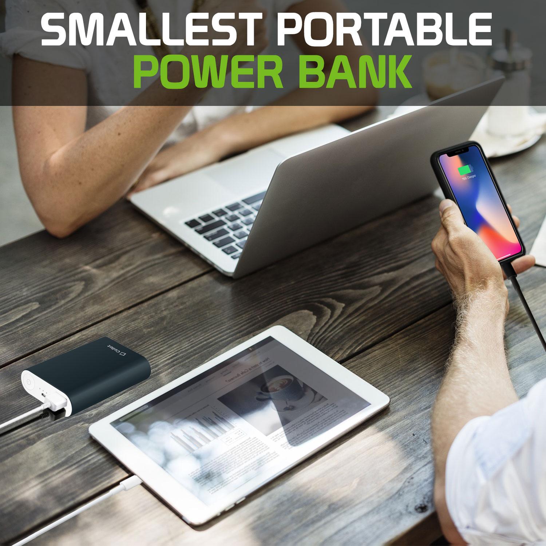 ZTE Axon M Power Bank Portable Charger 10,000mAh Blue