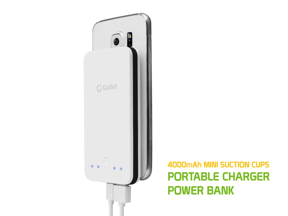LG Ultimate 2 4000mAh PowerBank 2 USB Ports White