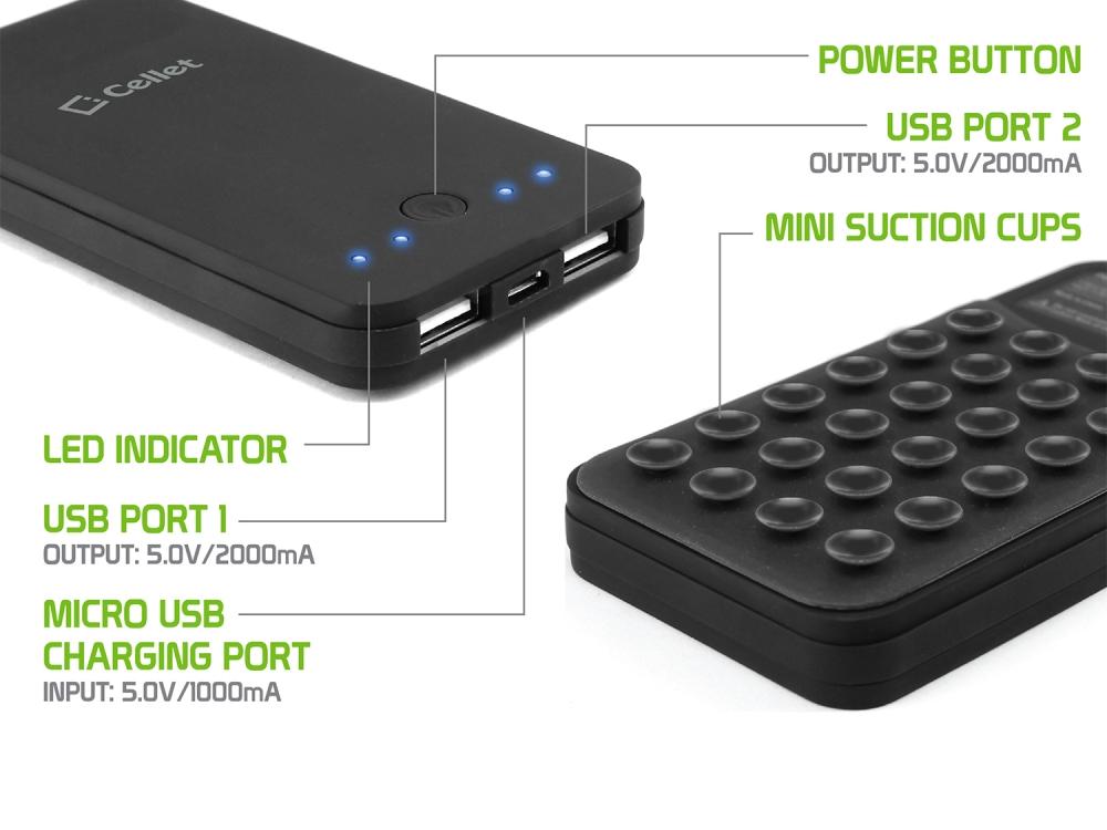 Blackberry Key2 PowerBank Type-C And Micro USB 4000ma White