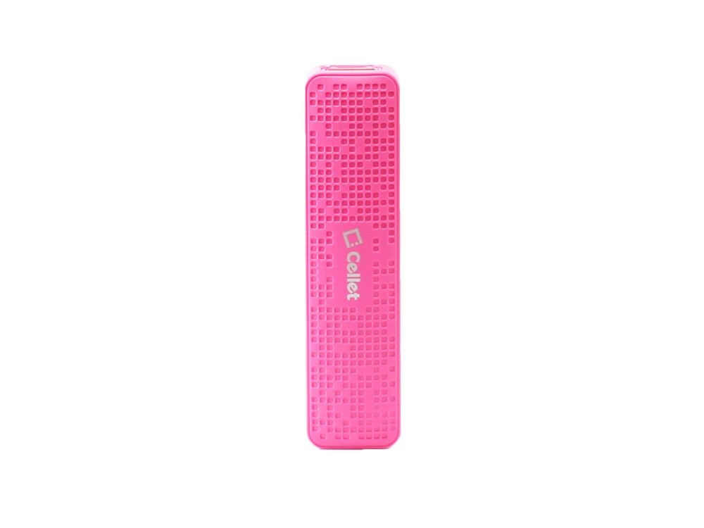 BLU Studio Selfie LTE Auxiliary Power Bank 2000ma Pink
