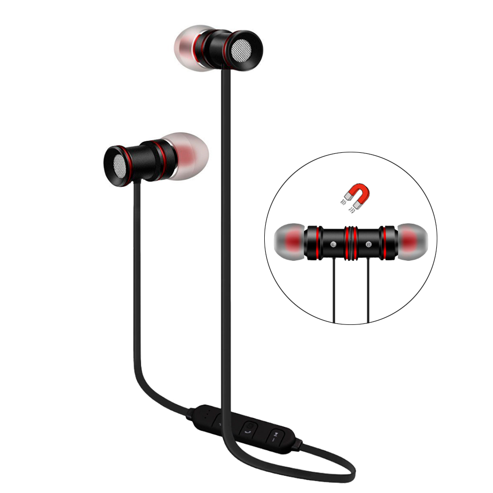 LG K10 Bluetooth Stereo Earphones Sport Headset Black