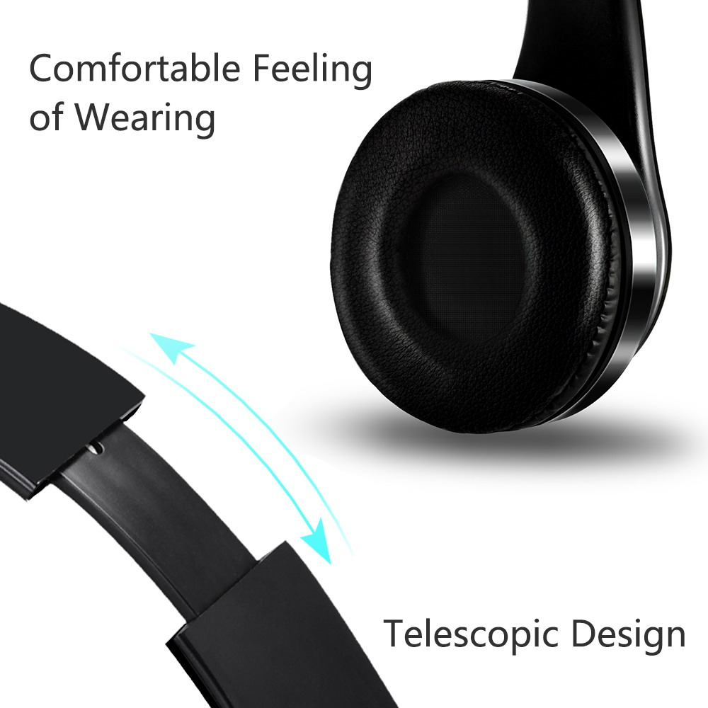 LG Tribute Royal Stereo Wireless Headphones Cushion Hands Free Black
