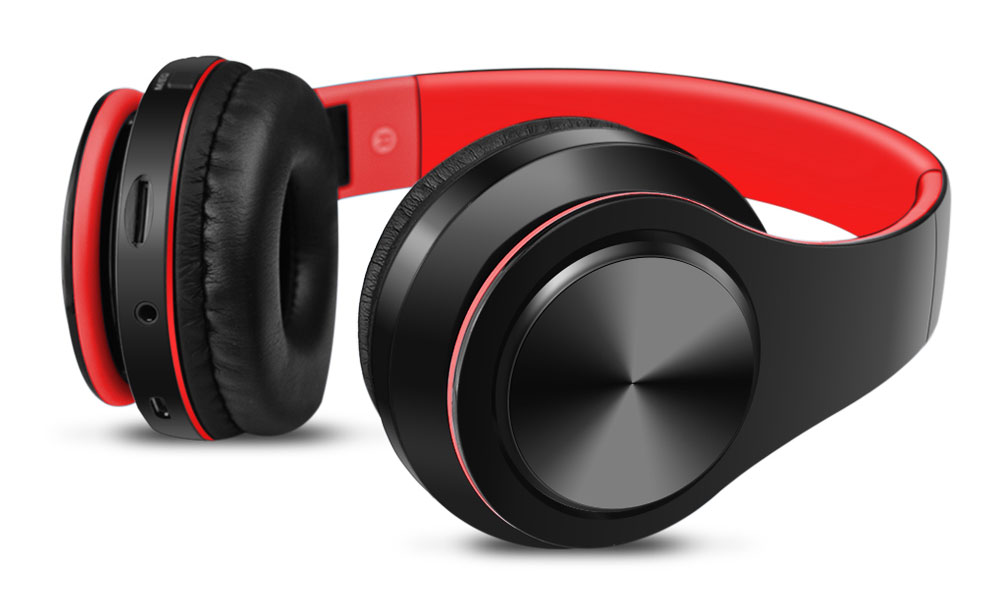 Nokia G20 Wireless Headphones Noise Canceling Over-Ear Hands Free Bluetooth Black Red