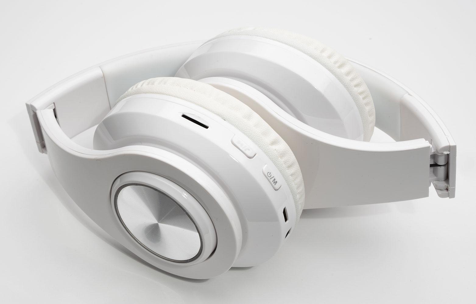 Sonim XP3 Plus Wireless Headphones Noise Canceling Over-Ear Hands Free Bluetooth White