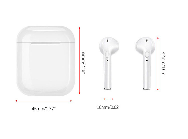 Apple iPhone 12 Pro Max Wireless Stereo Earphones With Noise Cancellation And Charging Case