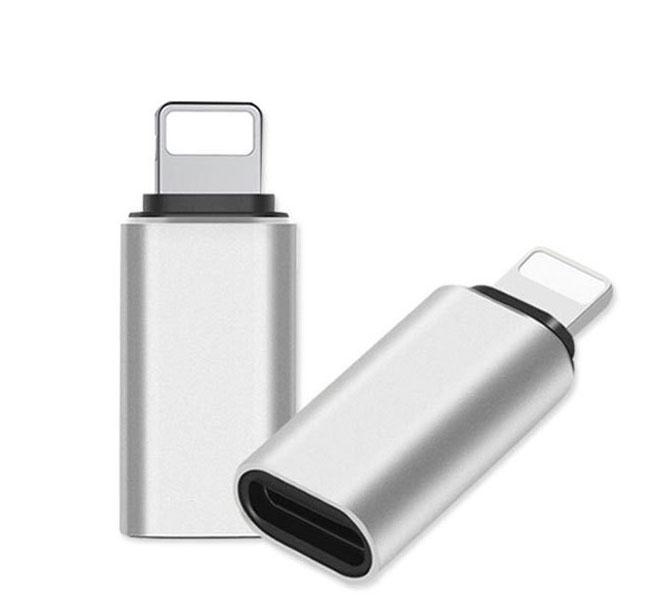 Apple iPad Air 3rd Gen USB Type-C To Lightning Adapter Converter Dongle Silver