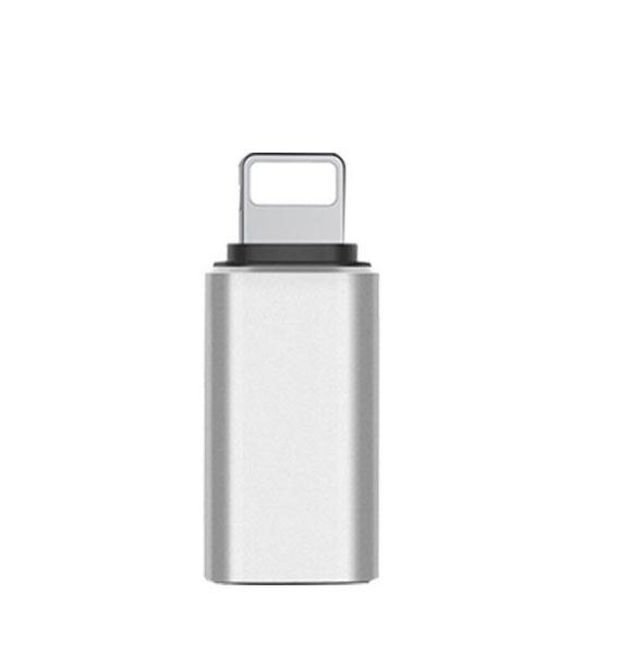 Apple IPad 9th Gen USB Type-C To Lightning Adapter Converter Dongle Silver