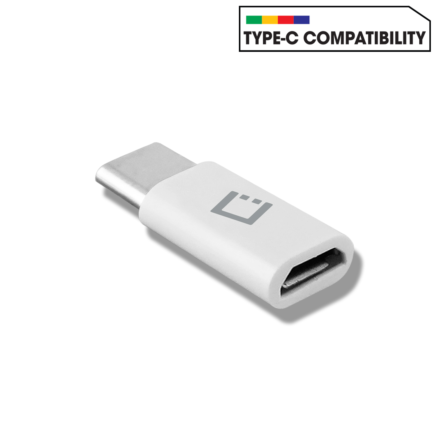 Samsung Galaxy S10 Plus Micro USB to USB Type C Adapter Converter White