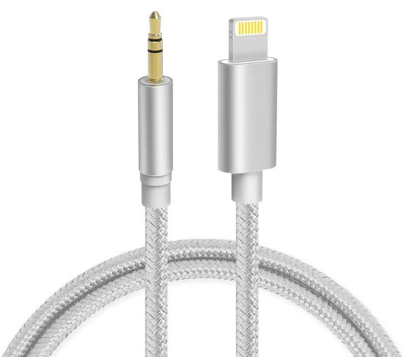 Apple iPhone SE 2020 Lightning Digital Audio Aux Converter 3.5mm White 3ft