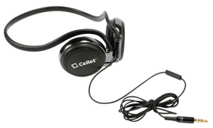 Headphones Handsfree Crystal Clear Sound Black