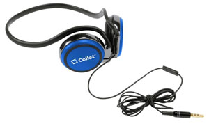 Headphones Handsfree Crystal Clear Sound Blue
