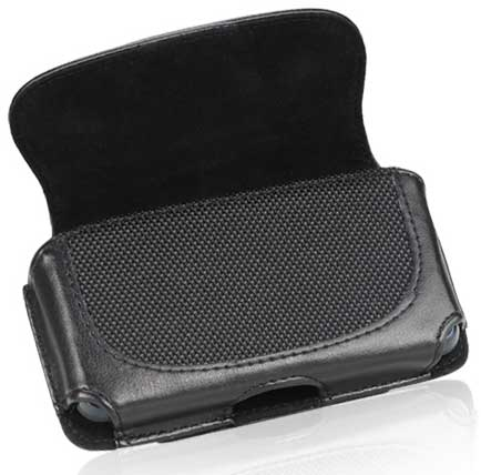 Samsung Sidekick 4G Black Leather DW Case Pouch Black