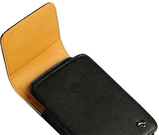 Nokia Lumia 820 Vertical Leather Case Pouch Clip Black
