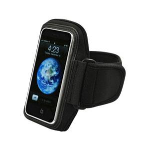 Sony Xperia U Cellet Neoprene Arm Band Black