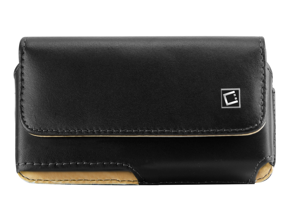 OnePlus 6 Noble Leather Case Swivel Clip Black