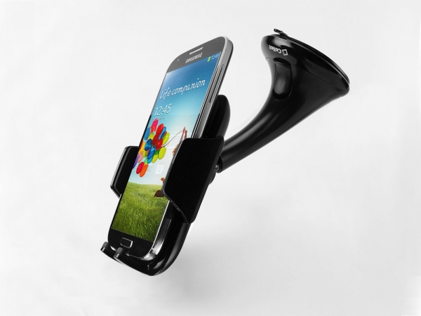 ZTE Blade Spark Windshield Smartphone Soft Pad Holder Black