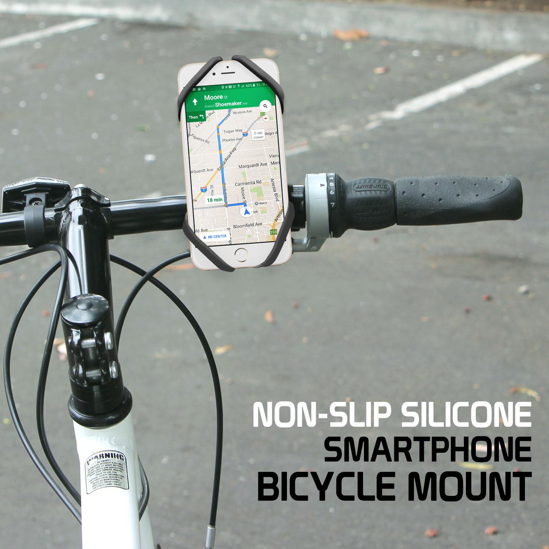 Kyocera Hydro Reach Bike Phone Mount Silicone Blue