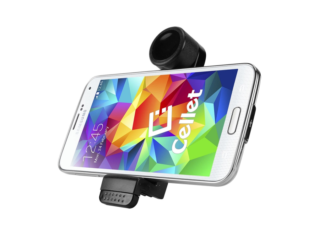 ZTE Blade Spark Low Profile Vent Smartphone Holder Black
