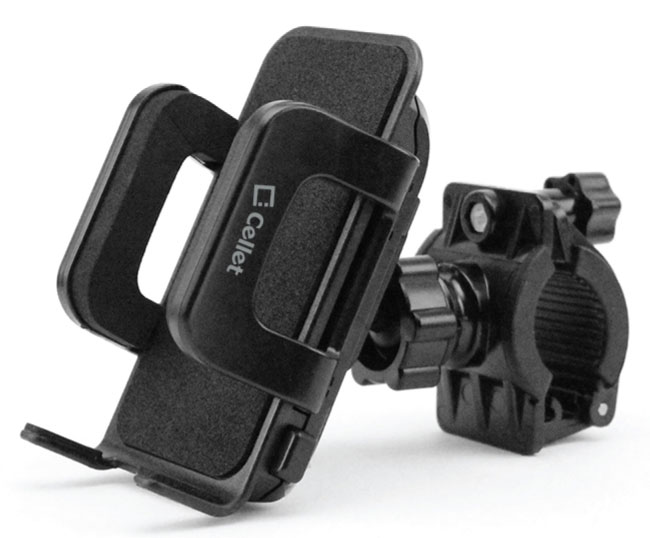 Smartphone Bicycle Mount Black