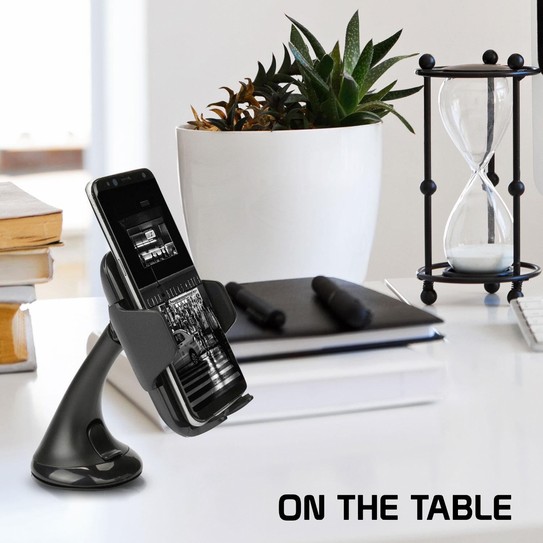 Google Pixel 3 XL Wireless Charger Phone Mount Combo Black