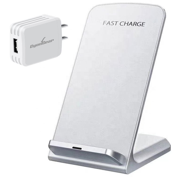 OnePlus 9 Fast Wireless Charging Desktop Stand QI 10 Watts White With AC Charger