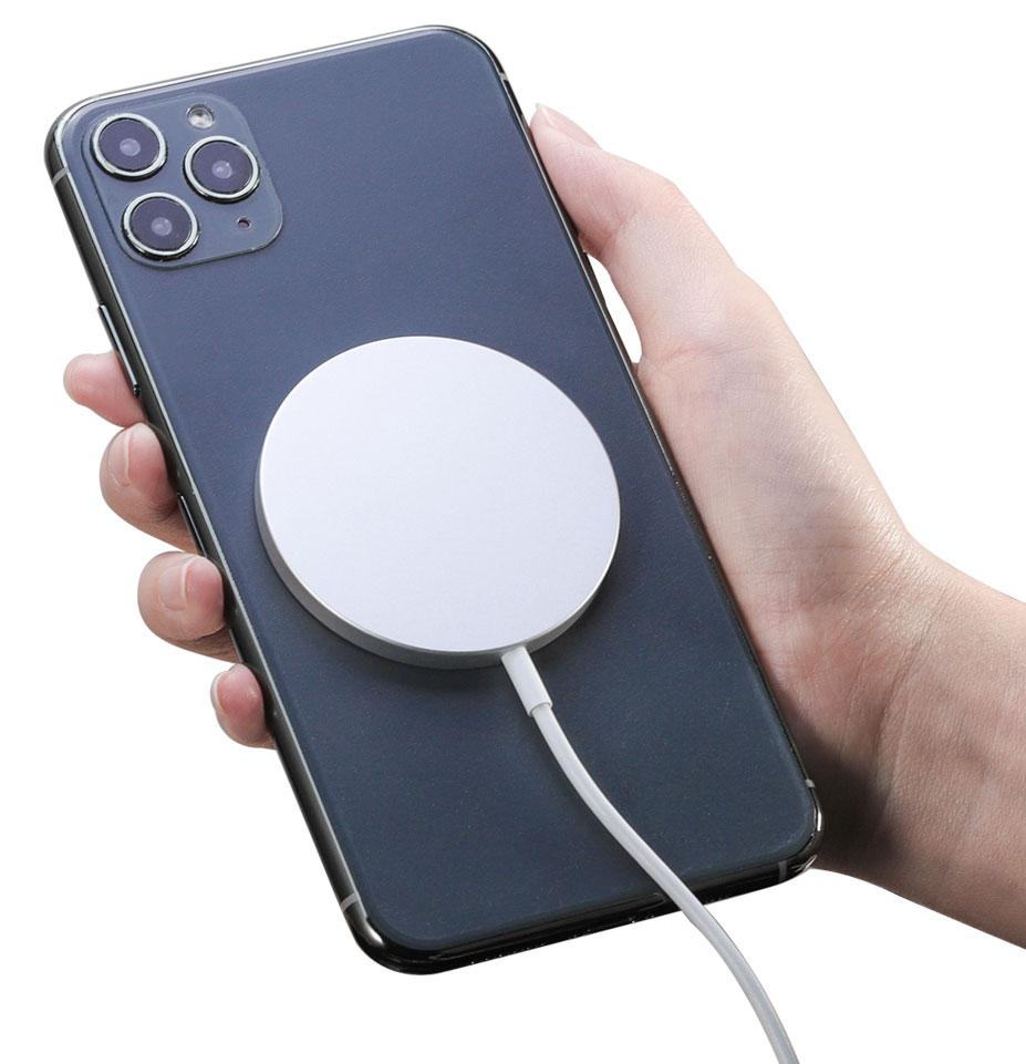 Apple iPhone 12 Pro Fast Wireless MagSafe Charging Pad QI 15 Watts White