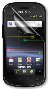 Samsung Nexus S 4G Screen Guard Protector Clear