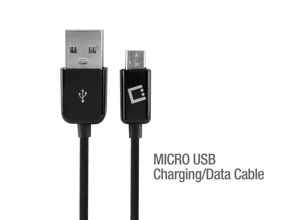 Kyocera Hydro Reach Dual USB 2400mAh Travel Charger Black