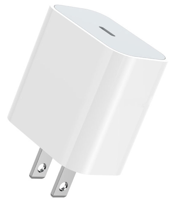 Apple IPad 8th Gen 18w Power Delivery PD Fast Lightning Wall Charger White 3ft Cable