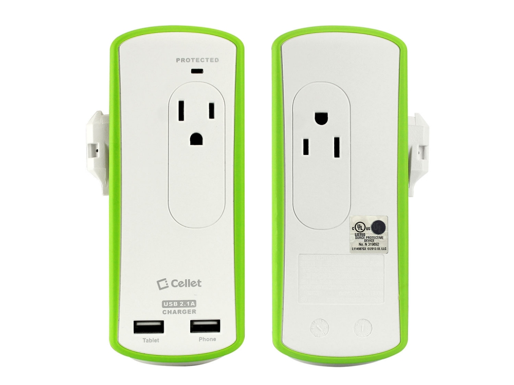 Nokia 6 AC Charger Surge Protection Dual USB White
